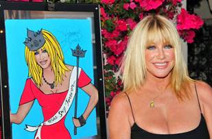 palm springs celebrity doodle art auctions